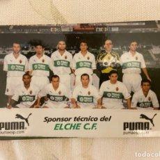 Cromos de Fútbol: ELCHE PUMA SPONSOR. Lote 209302751