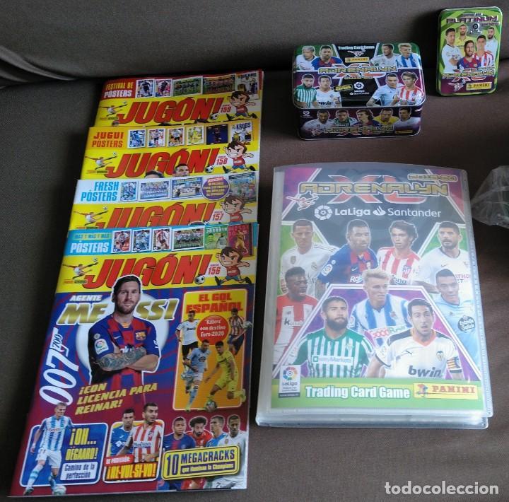 COLECCION COMPLETA DE 570 CROMOS ADRENALYN XL 2019 2020 + EXTRAS (Coleccionismo Deportivo - Álbumes y Cromos de Deportes - Cromos de Fútbol)