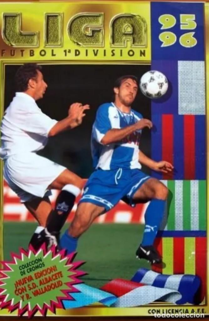 LIGA ESTE 1995 1996 / 95 96 - 473 CROMOS SIN REPETIR - NUNCA PEGADOS (SIN PEGAR) COLOCA,FICHAJE,BAJA (Coleccionismo Deportivo - Álbumes y Cromos de Deportes - Cromos de Fútbol)