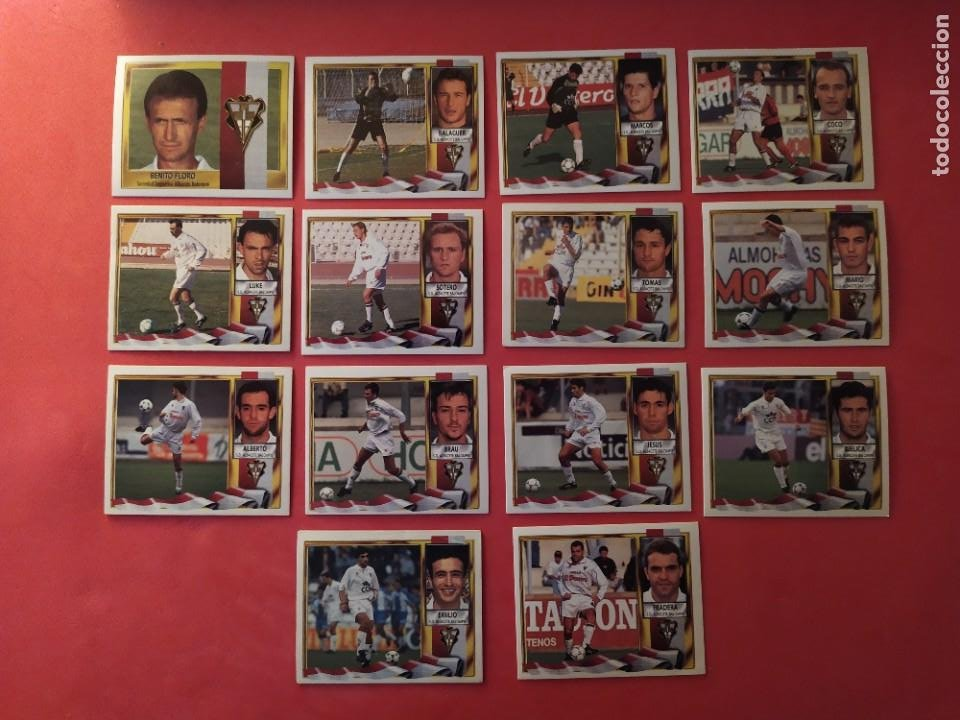 Cromos de Fútbol: Liga Este 1995 1996 / 95 96 - 473 cromos sin repetir - Nunca pegados (sin pegar) coloca,fichaje,baja - Foto 3 - 209688183