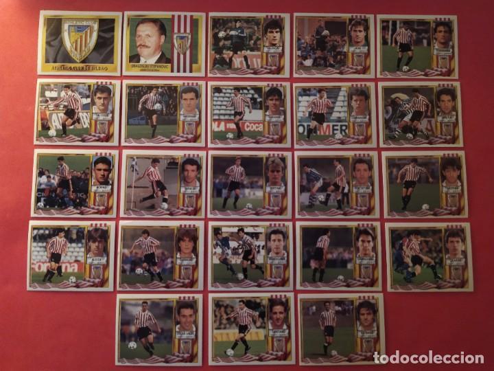 Cromos de Fútbol: Liga Este 1995 1996 / 95 96 - 473 cromos sin repetir - Nunca pegados (sin pegar) coloca,fichaje,baja - Foto 5 - 209688183