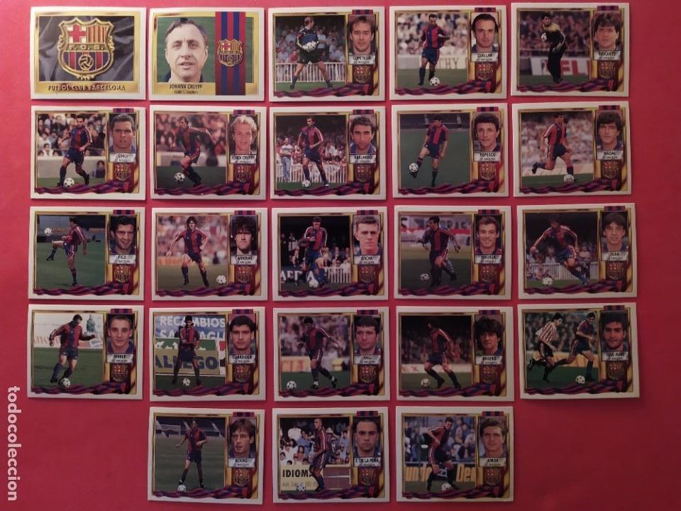 Cromos de Fútbol: Liga Este 1995 1996 / 95 96 - 473 cromos sin repetir - Nunca pegados (sin pegar) coloca,fichaje,baja - Foto 7 - 209688183
