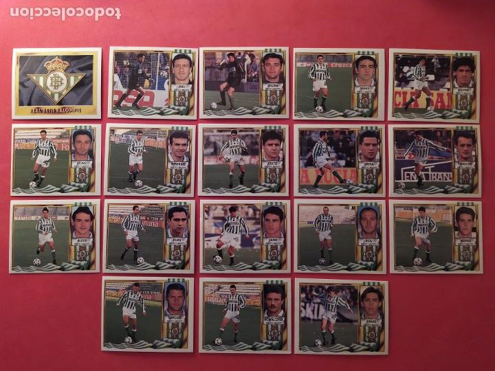 Cromos de Fútbol: Liga Este 1995 1996 / 95 96 - 473 cromos sin repetir - Nunca pegados (sin pegar) coloca,fichaje,baja - Foto 8 - 209688183