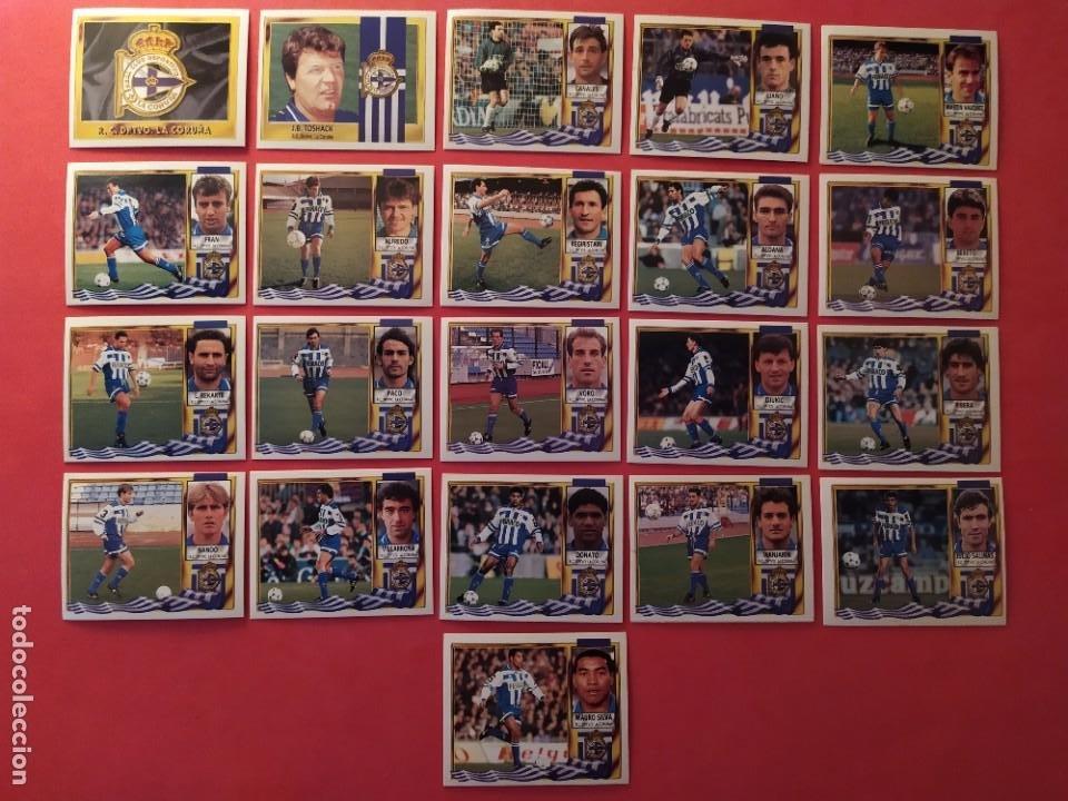 Cromos de Fútbol: Liga Este 1995 1996 / 95 96 - 473 cromos sin repetir - Nunca pegados (sin pegar) coloca,fichaje,baja - Foto 11 - 209688183