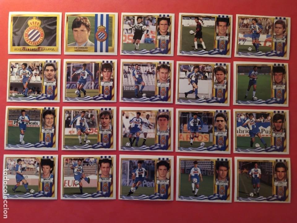 Cromos de Fútbol: Liga Este 1995 1996 / 95 96 - 473 cromos sin repetir - Nunca pegados (sin pegar) coloca,fichaje,baja - Foto 12 - 209688183