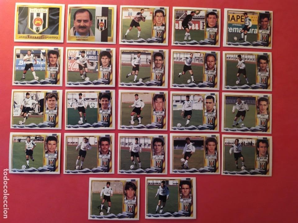 Cromos de Fútbol: Liga Este 1995 1996 / 95 96 - 473 cromos sin repetir - Nunca pegados (sin pegar) coloca,fichaje,baja - Foto 13 - 209688183