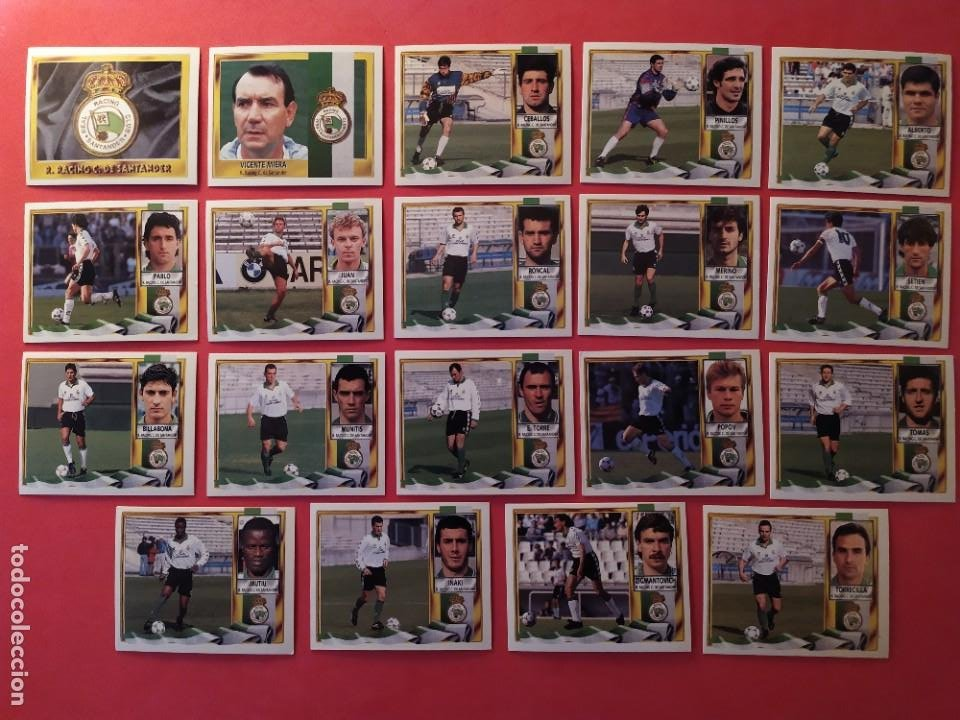 Cromos de Fútbol: Liga Este 1995 1996 / 95 96 - 473 cromos sin repetir - Nunca pegados (sin pegar) coloca,fichaje,baja - Foto 15 - 209688183