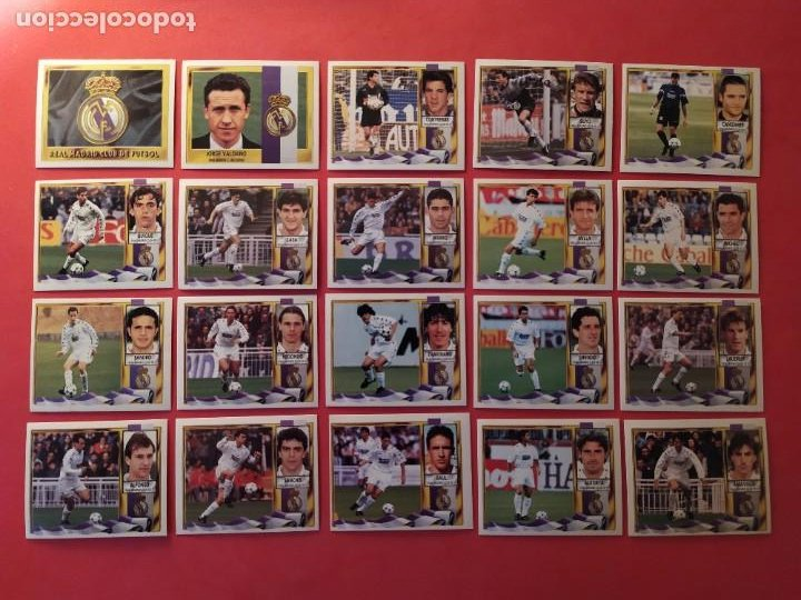 Cromos de Fútbol: Liga Este 1995 1996 / 95 96 - 473 cromos sin repetir - Nunca pegados (sin pegar) coloca,fichaje,baja - Foto 17 - 209688183