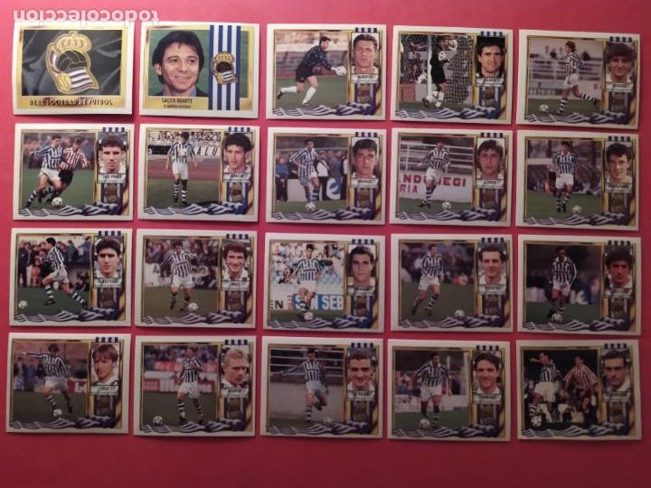 Cromos de Fútbol: Liga Este 1995 1996 / 95 96 - 473 cromos sin repetir - Nunca pegados (sin pegar) coloca,fichaje,baja - Foto 18 - 209688183