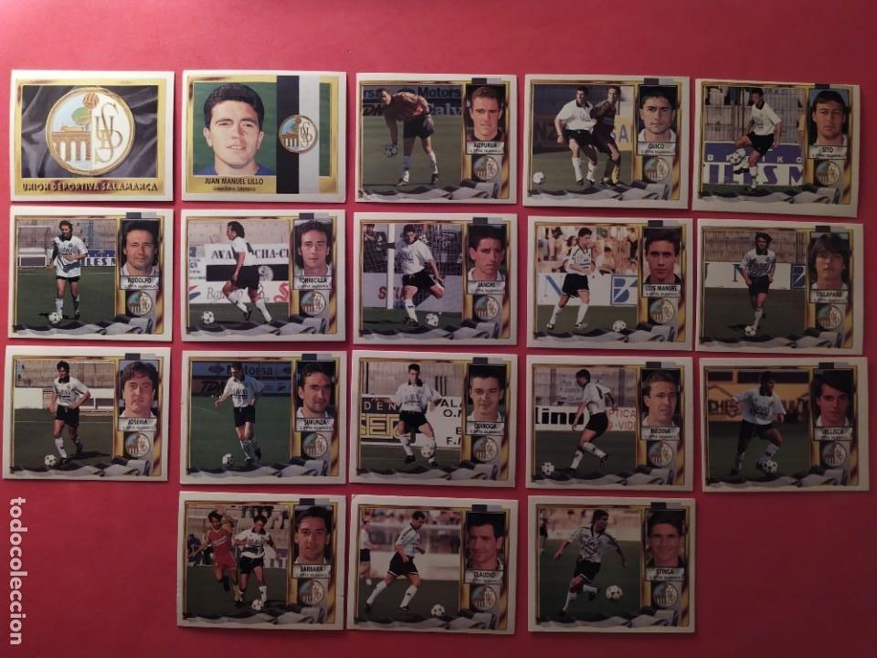 Cromos de Fútbol: Liga Este 1995 1996 / 95 96 - 473 cromos sin repetir - Nunca pegados (sin pegar) coloca,fichaje,baja - Foto 19 - 209688183