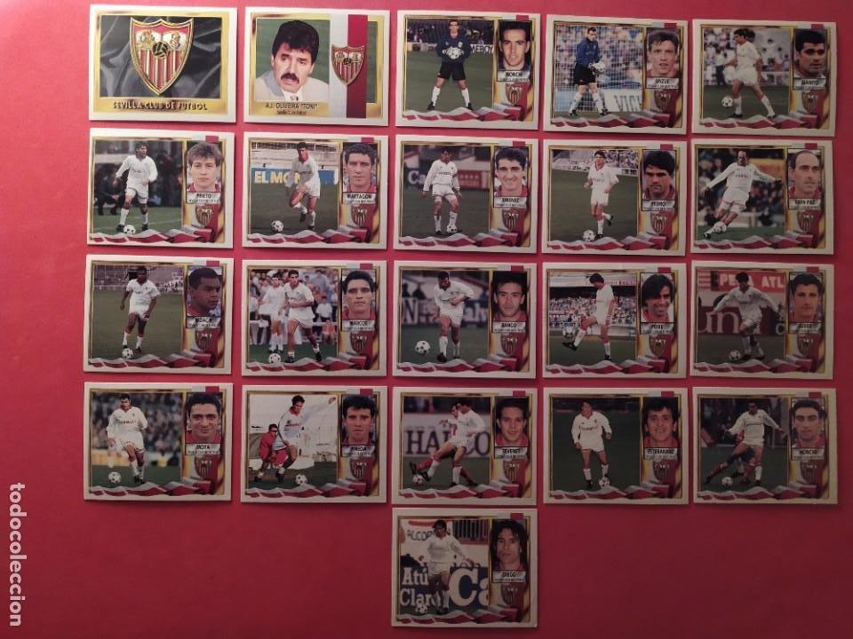 Cromos de Fútbol: Liga Este 1995 1996 / 95 96 - 473 cromos sin repetir - Nunca pegados (sin pegar) coloca,fichaje,baja - Foto 20 - 209688183