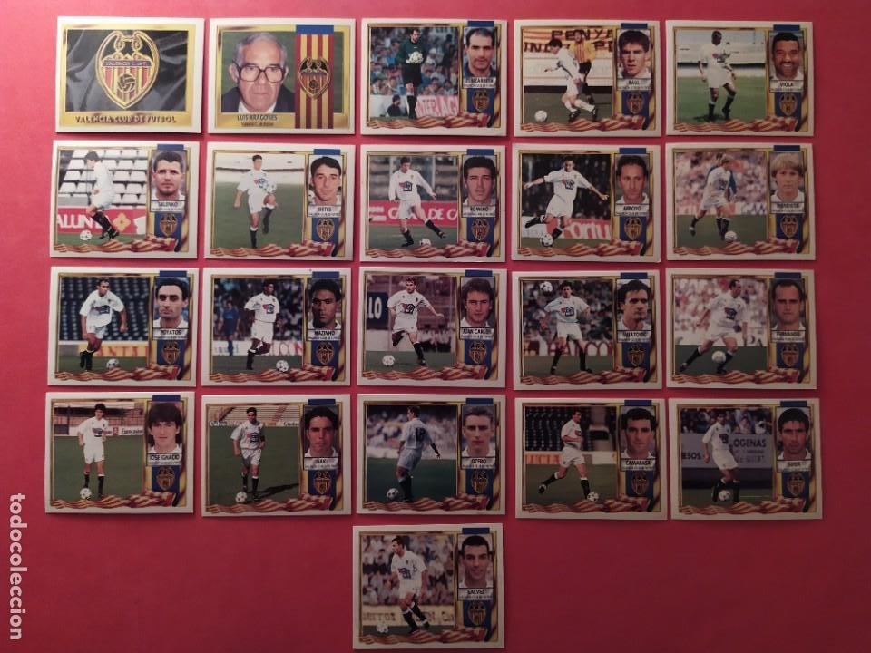Cromos de Fútbol: Liga Este 1995 1996 / 95 96 - 473 cromos sin repetir - Nunca pegados (sin pegar) coloca,fichaje,baja - Foto 23 - 209688183