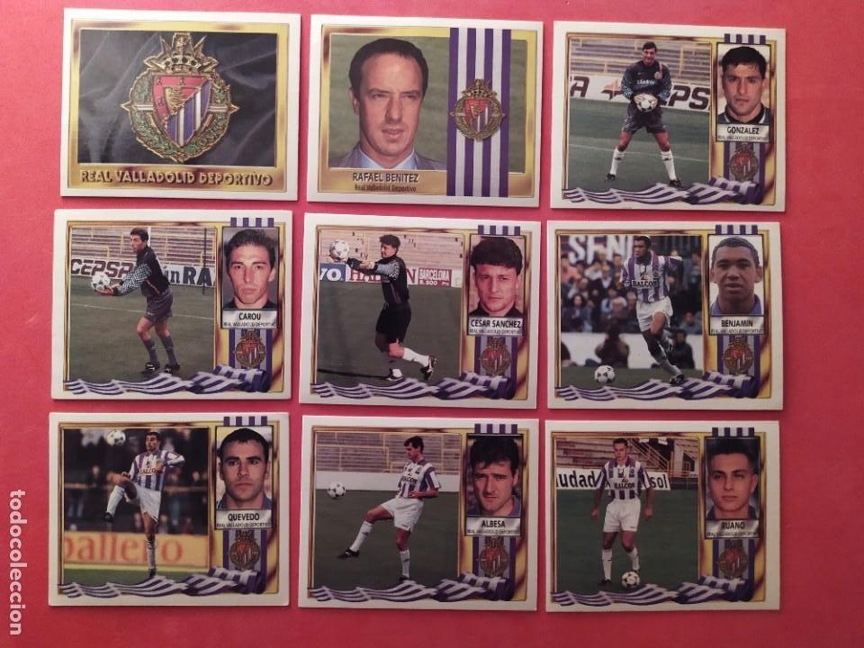 Cromos de Fútbol: Liga Este 1995 1996 / 95 96 - 473 cromos sin repetir - Nunca pegados (sin pegar) coloca,fichaje,baja - Foto 24 - 209688183