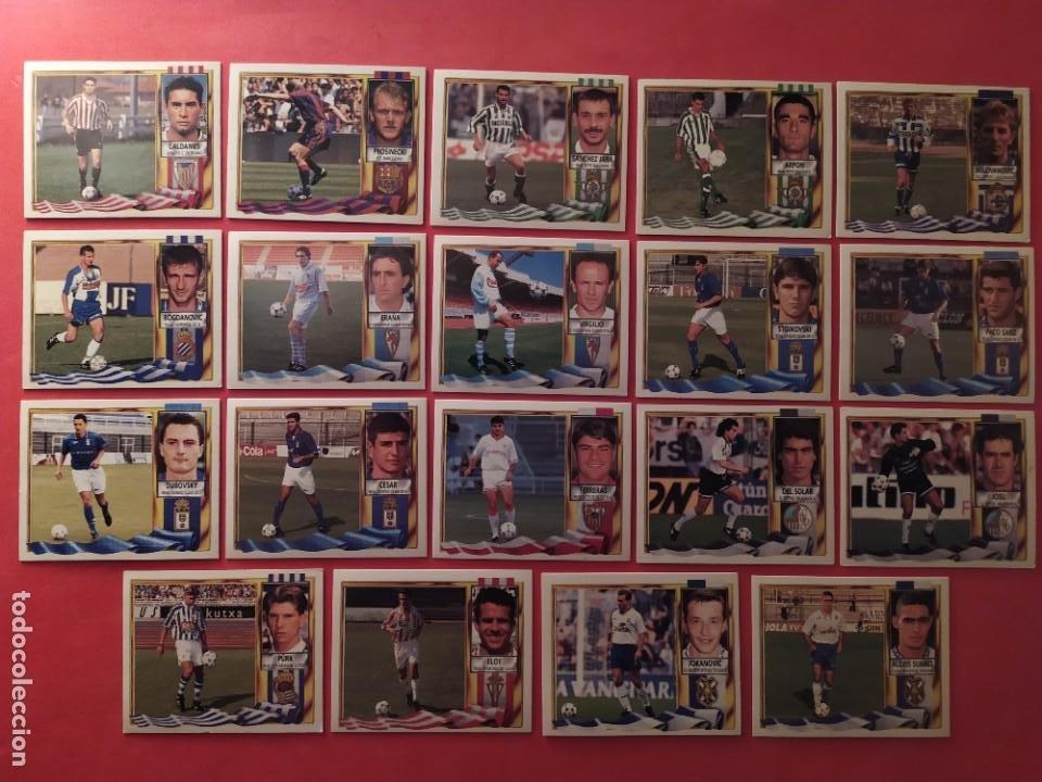 Cromos de Fútbol: Liga Este 1995 1996 / 95 96 - 473 cromos sin repetir - Nunca pegados (sin pegar) coloca,fichaje,baja - Foto 27 - 209688183