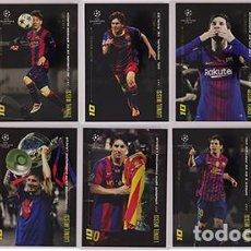 Cromos de Fútbol: TOPPS - DESIGNED BY LIONEL MESSI - 10 CARD - FC BARCELONA. Lote 209785720