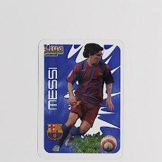 Cromos de Fútbol: MESSI - FC. BARCELONA CRYSTALCARDS MUNDICROMO LIGA 2006-2007. Lote 209786450