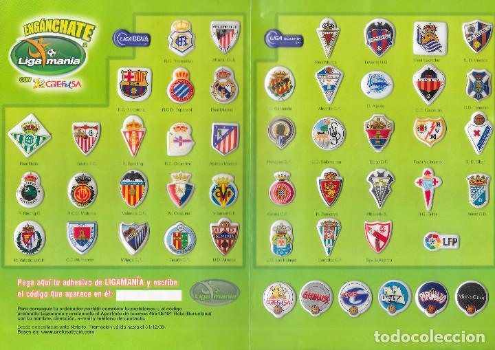 ALBUM DE GREFUSA LIGA MANIA COMPLETO (Coleccionismo Deportivo - Álbumes y Cromos de Deportes - Cromos de Fútbol)