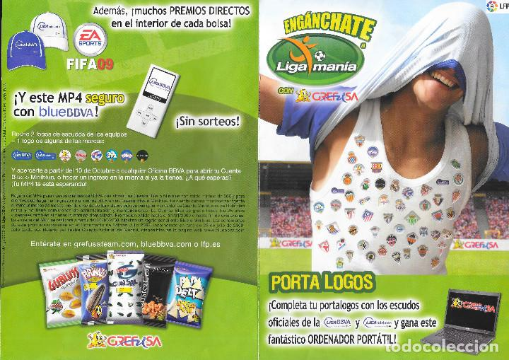 Cromos de Fútbol: ALBUM DE GREFUSA LIGA MANIA COMPLETO - Foto 2 - 209786665