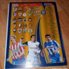 Cromos de Fútbol: FICHERO PARA LIGA 2005. Lote 209807752