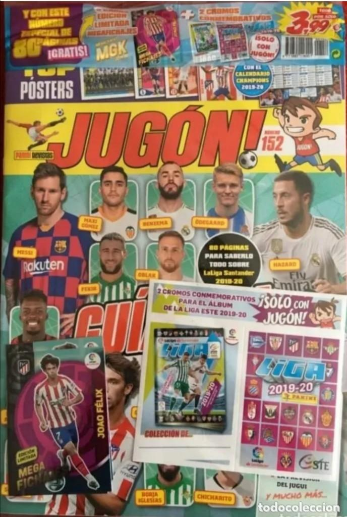 REVISTA JUGON 152 PRECINTADA (Coleccionismo Deportivo - Álbumes y Cromos de Deportes - Cromos de Fútbol)