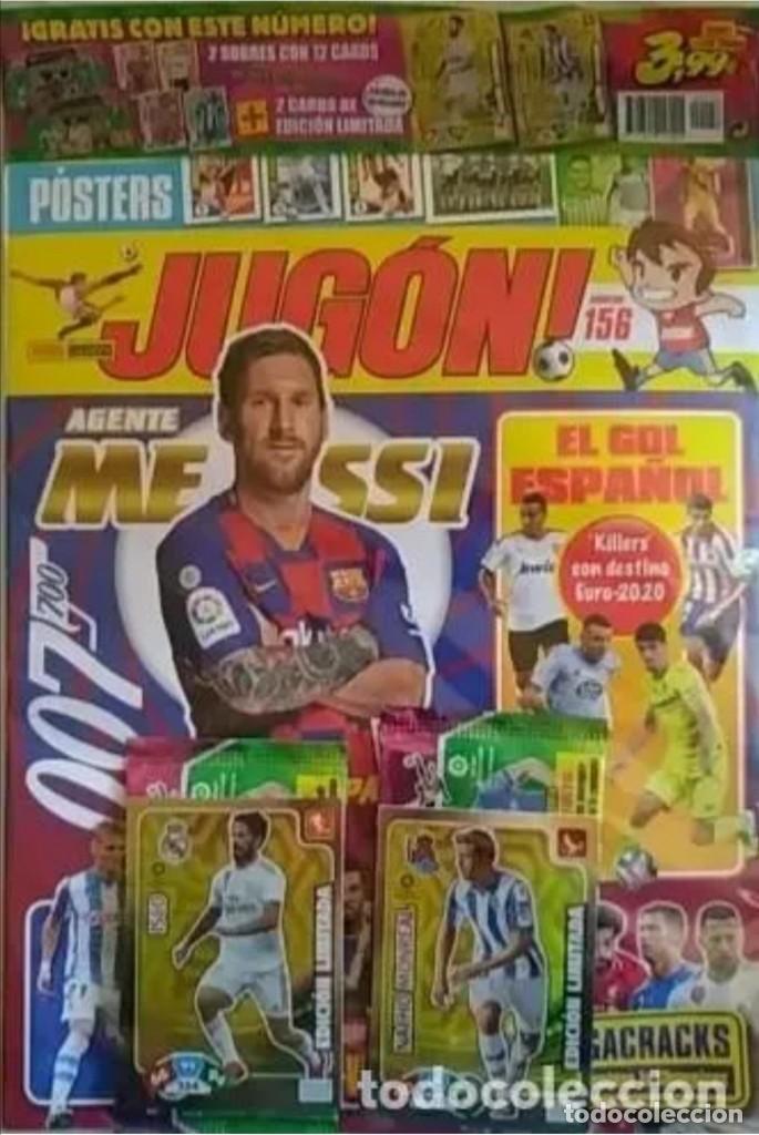 REVISTA JUGON 156 PRECINTADA (Coleccionismo Deportivo - Álbumes y Cromos de Deportes - Cromos de Fútbol)