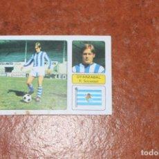 Cromos de Fútbol: CAMPEONATO DE LIGA 1973/74; OYARZABAL R.SOCIEDAD EDITORIAL FHER. Lote 209975648