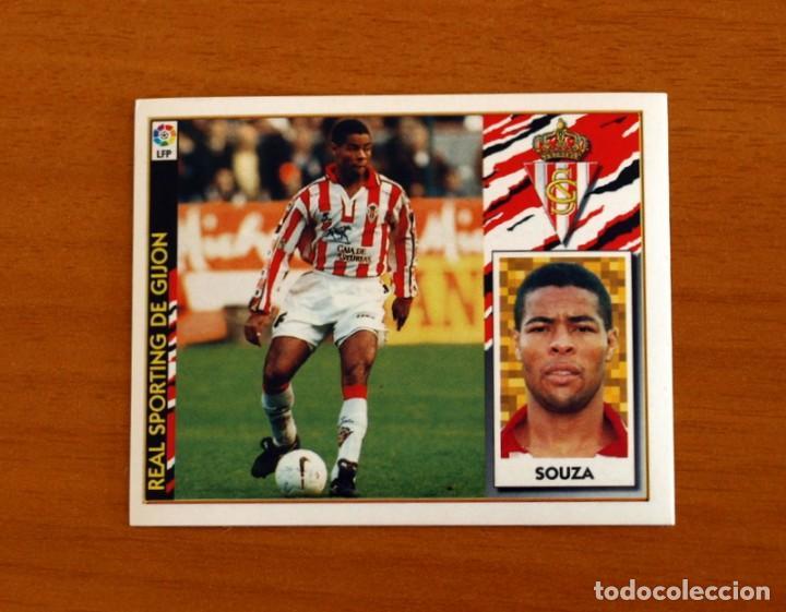 SPORTING DE GIJÓN - SOUZA - BAJA - EDICIONES ESTE 1997-1998, 97-98 - NUNCA PEGADO (Coleccionismo Deportivo - Álbumes y Cromos de Deportes - Cromos de Fútbol)