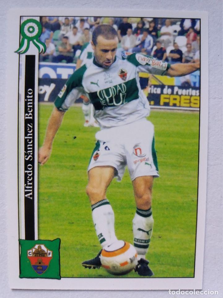 819 ALFREDO - ELCHE C.F. (2º DIVISIÓN) - MUNDICROMO 2006 (Coleccionismo Deportivo - Álbumes y Cromos de Deportes - Cromos de Fútbol)