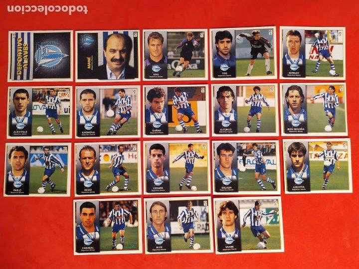 Cromos de Fútbol: Liga Este 1998 1999 / 98 99 - 455 cromos sin repetir - Nunca pegados (sin pegar) coloca,fichaje,baja - Foto 2 - 210106011