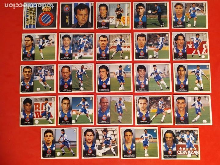 Cromos de Fútbol: Liga Este 1998 1999 / 98 99 - 455 cromos sin repetir - Nunca pegados (sin pegar) coloca,fichaje,baja - Foto 10 - 210106011
