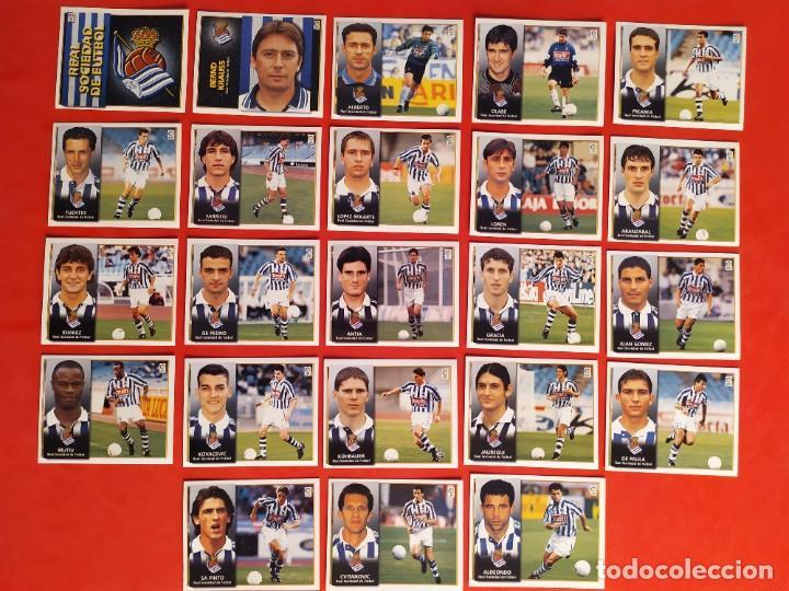 Cromos de Fútbol: Liga Este 1998 1999 / 98 99 - 455 cromos sin repetir - Nunca pegados (sin pegar) coloca,fichaje,baja - Foto 16 - 210106011