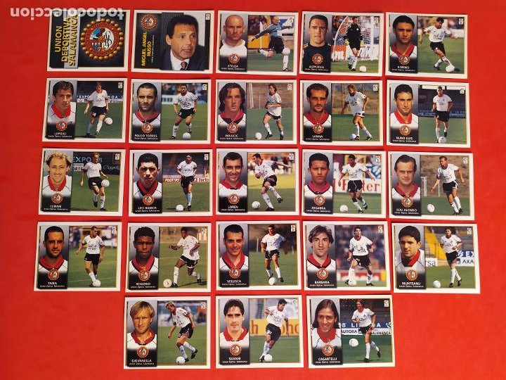 Cromos de Fútbol: Liga Este 1998 1999 / 98 99 - 455 cromos sin repetir - Nunca pegados (sin pegar) coloca,fichaje,baja - Foto 17 - 210106011