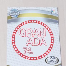 Cromos de Fútbol: Nº 418 ESCUDO GRANADA 74 - MEGACRACKS 07 08 - FICHA - 2ª DIVISION. Lote 210185370