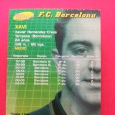 Cromos de Fútbol: 379 - XAVI - F.C.BARCELONA - MEGACRACKS 2004-2005 / 04-05. Lote 210222921