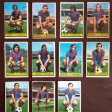 Cromos de Fútbol: EDICIONES ESTE 74/75 LOTE DE 11 CROMOS DEL BARCELONA (RECUPERADOS). Lote 210223092