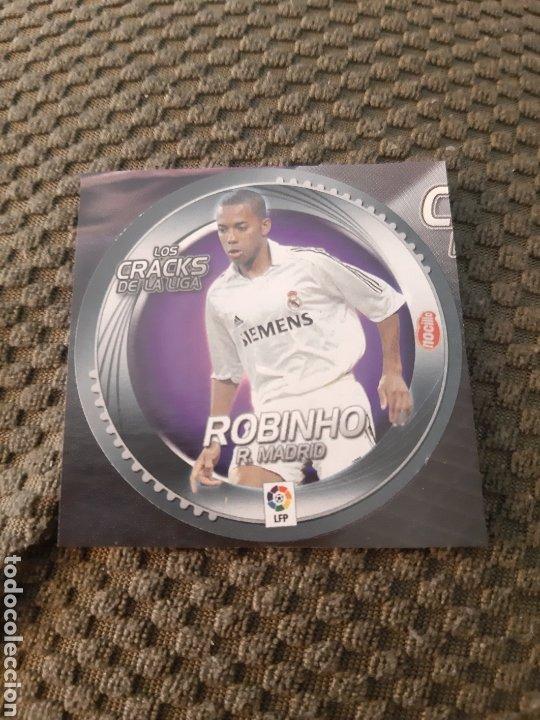 EDICIONES ESTE 2006 2007 LOS CRACKS DE LA LIGA NOCILLA ROBINHO REAL MADRID (Coleccionismo Deportivo - Álbumes y Cromos de Deportes - Cromos de Fútbol)