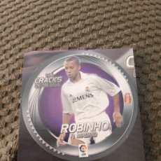 Cromos de Fútbol: EDICIONES ESTE 2006 2007 LOS CRACKS DE LA LIGA NOCILLA ROBINHO REAL MADRID. Lote 210224467