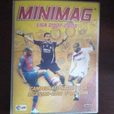 Cromos de Fútbol: MINIMAG 2007/2008 LOTE DE 130 MINI REVISTAS MAS ARCHIVADOR (SIN REPETIR). Lote 210224547