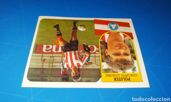 Cromos de Fútbol: POLSTER CD LOGROÑÉS ESTE 91 92 - LIGA TEMPORADA 1991 1992 - FICHAJE COLOCA 7 BIS - CARTON SIN PEGAR - Foto 3 - 210256497