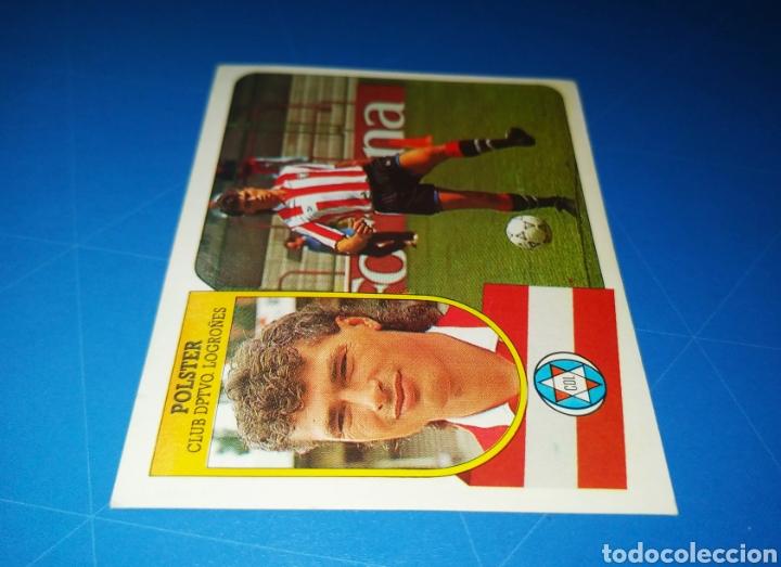 Cromos de Fútbol: POLSTER CD LOGROÑÉS ESTE 91 92 - LIGA TEMPORADA 1991 1992 - FICHAJE COLOCA 7 BIS - CARTON SIN PEGAR - Foto 4 - 210256497