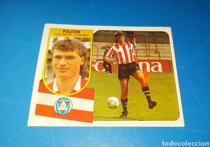Cromos de Fútbol: POLSTER CD LOGROÑÉS ESTE 91 92 - LIGA TEMPORADA 1991 1992 - FICHAJE COLOCA 7 BIS - CARTON SIN PEGAR - Foto 5 - 210256497