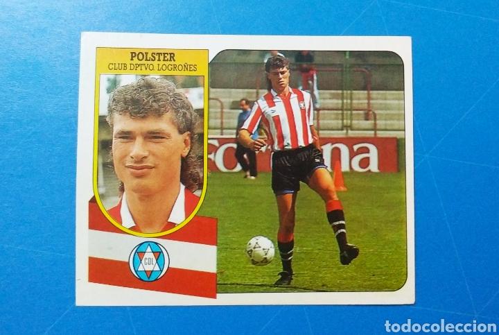 POLSTER CD LOGROÑÉS ESTE 91 92 - LIGA TEMPORADA 1991 1992 - FICHAJE COLOCA 7 BIS - CARTON SIN PEGAR (Coleccionismo Deportivo - Álbumes y Cromos de Deportes - Cromos de Fútbol)