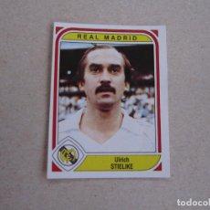 Cromos de Fútbol: PANINI 83 84 FUTBOL 84 Nº 211 STIELIKE REAL MADRID 1983 1984 NUEVO. Lote 248251945