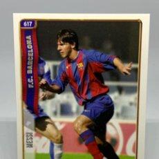 Cromos de Fútbol: MESSI 2004-2005 ROOKIE CARD CROMO NUEVO MUNDICROMO 617+ FC BARCELONA 04-05. Lote 210425088