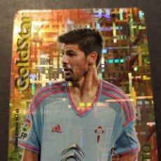 Cromos de Fútbol: NOLITO 34/45 GOLDSTAR TETRIS - (CELTA) QUIZ GAME 2015 (MUNDICROMO 2014/15) LIMITED EDITION. Lote 210425928