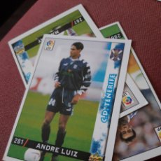 Figurine di Calcio: 281 ANDRE LUIZ TENERIFE MUNDICROMO FICHAS DE LA LIGA 98 99 1999. Lote 210446495