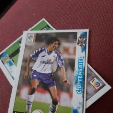 Figurine di Calcio: MAKAAY 287 TENERIFE MUNDICROMO FICHAS DE LA LIGA 98 99 1999. Lote 210446523
