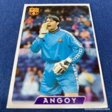 Cromos de Fútbol: MUNDICROMO FICHAS LIGA 95 96 ULTIMA HORA ERROR Nº 54 ANGOY BARCELONA 58 1995 1996. Lote 210562891