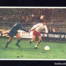 Figurine di Calcio: CROMO DE FUTBOL: JOHAN CRUYFF, ASI JUEGO AL FUTBOL: CROMO 59. HOLANDA. Lote 210623175