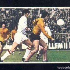 Figurine di Calcio: CROMO DE FUTBOL: JOHAN CRUYFF, ASI JUEGO AL FUTBOL: CROMO 40. HOLANDA-BELGICA. Lote 210623252